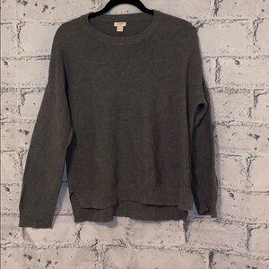 J Crew Basic Sweater